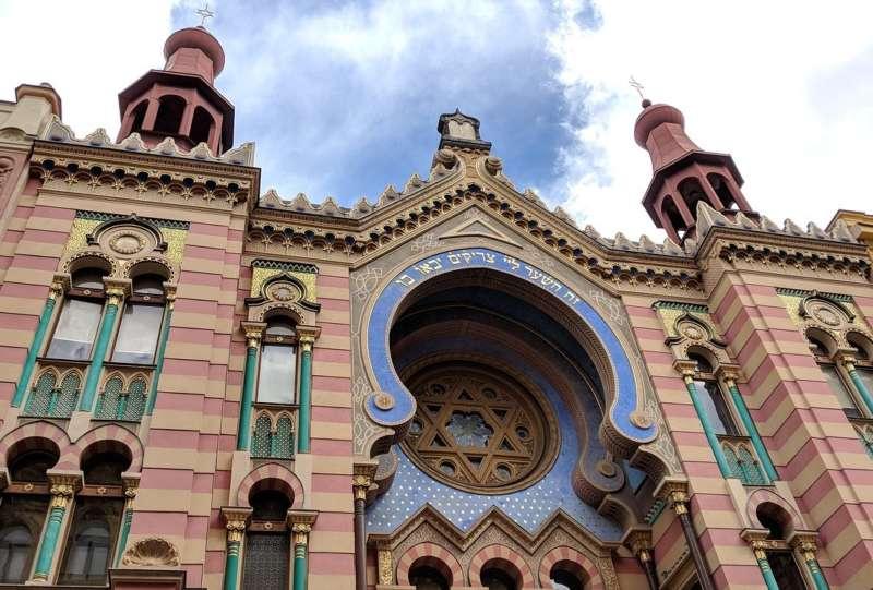 Jubilejní synagoga - Židovské město - Praha