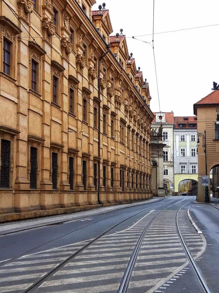 street křižovnická in prague