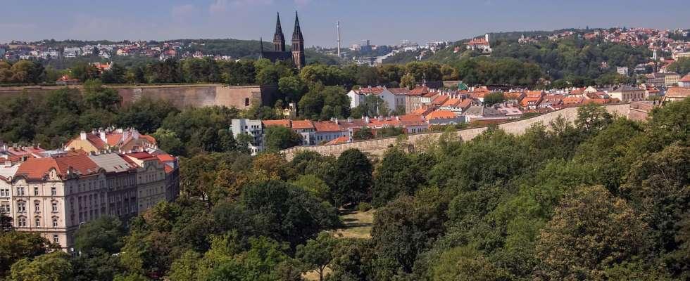 Vyšehrad in Prague Nusle