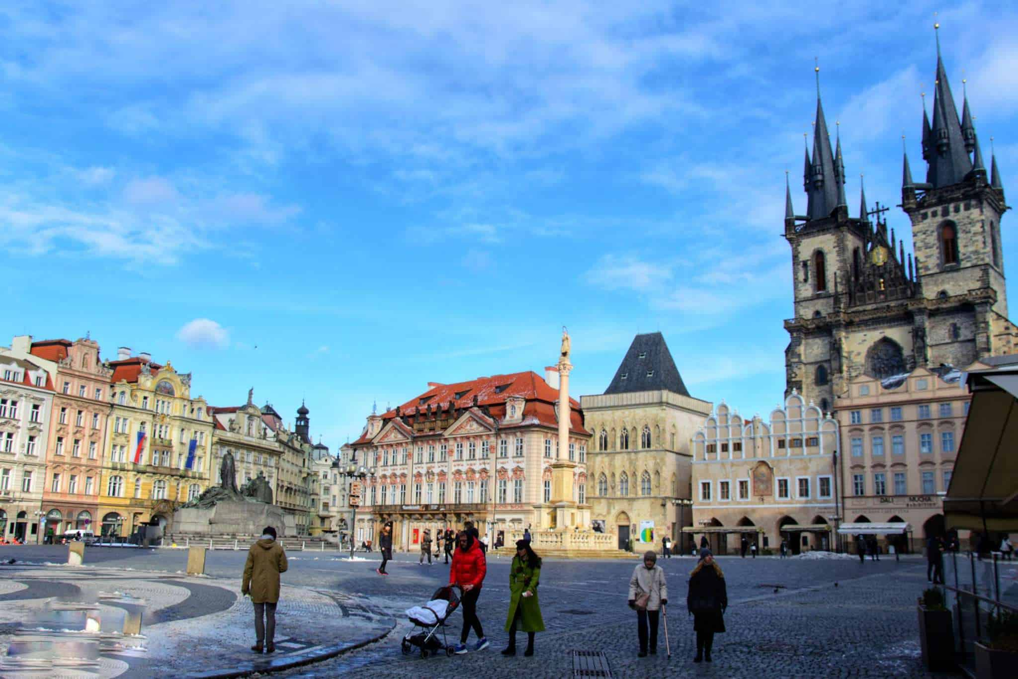 The Old Town Square Prague