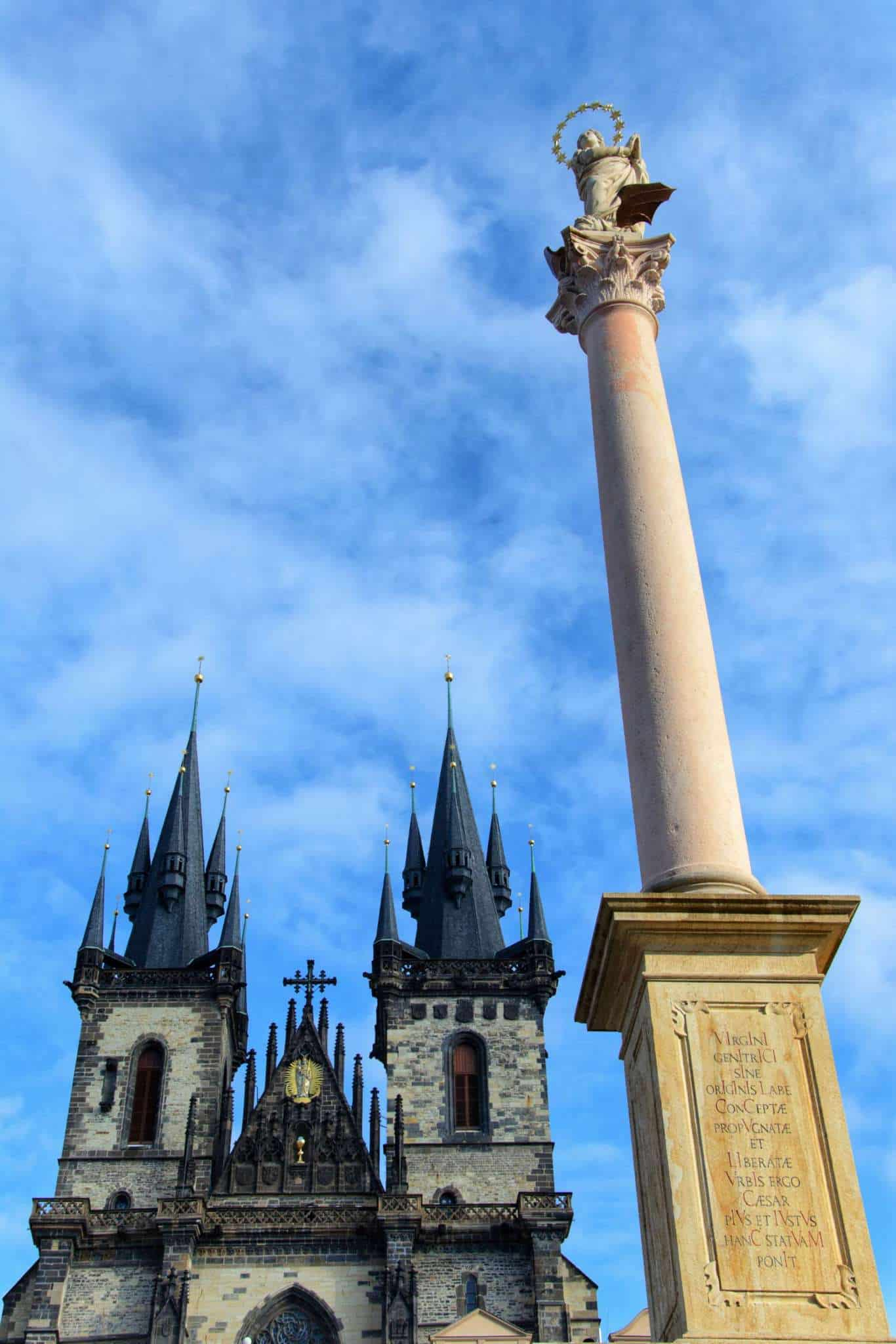 Virgin Mary Column Prague
