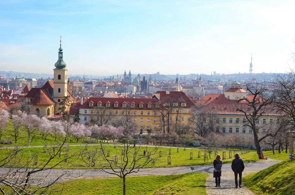 Petřín in Prague