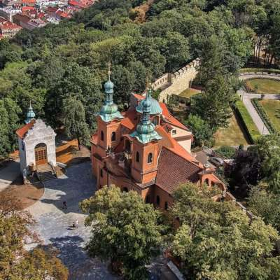 Petřín – the best known of the Prague hills