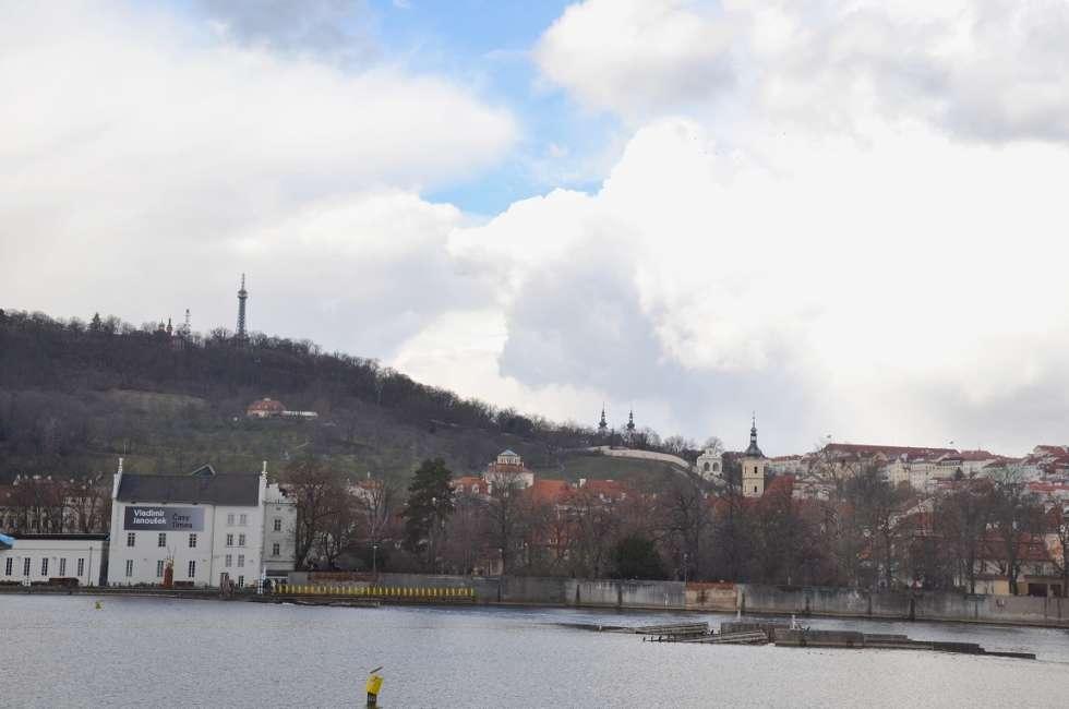 Petřín- a hill in Prague