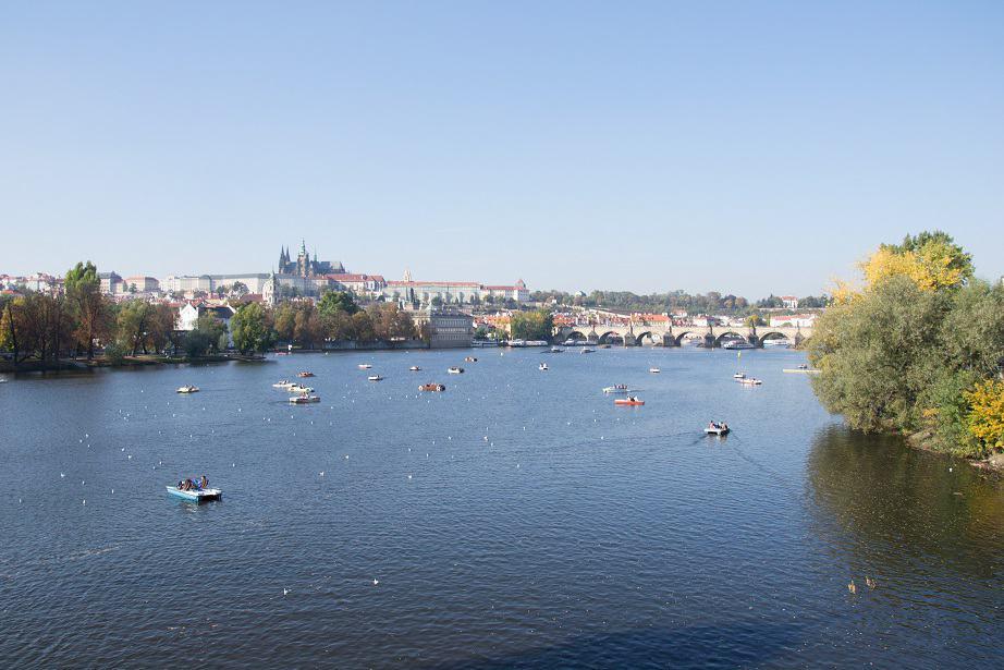 Nice weather in Prague